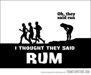 (I promise I don't even like Rum.)