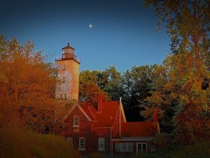 The Light House Presque Isle State Park Erie, Pa