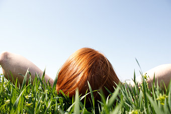 266525-stock-photo-human-being-woman-sky-youth-young-adults-green-sun