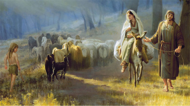marry-on-donkey-and-joseph-travel-to-judia