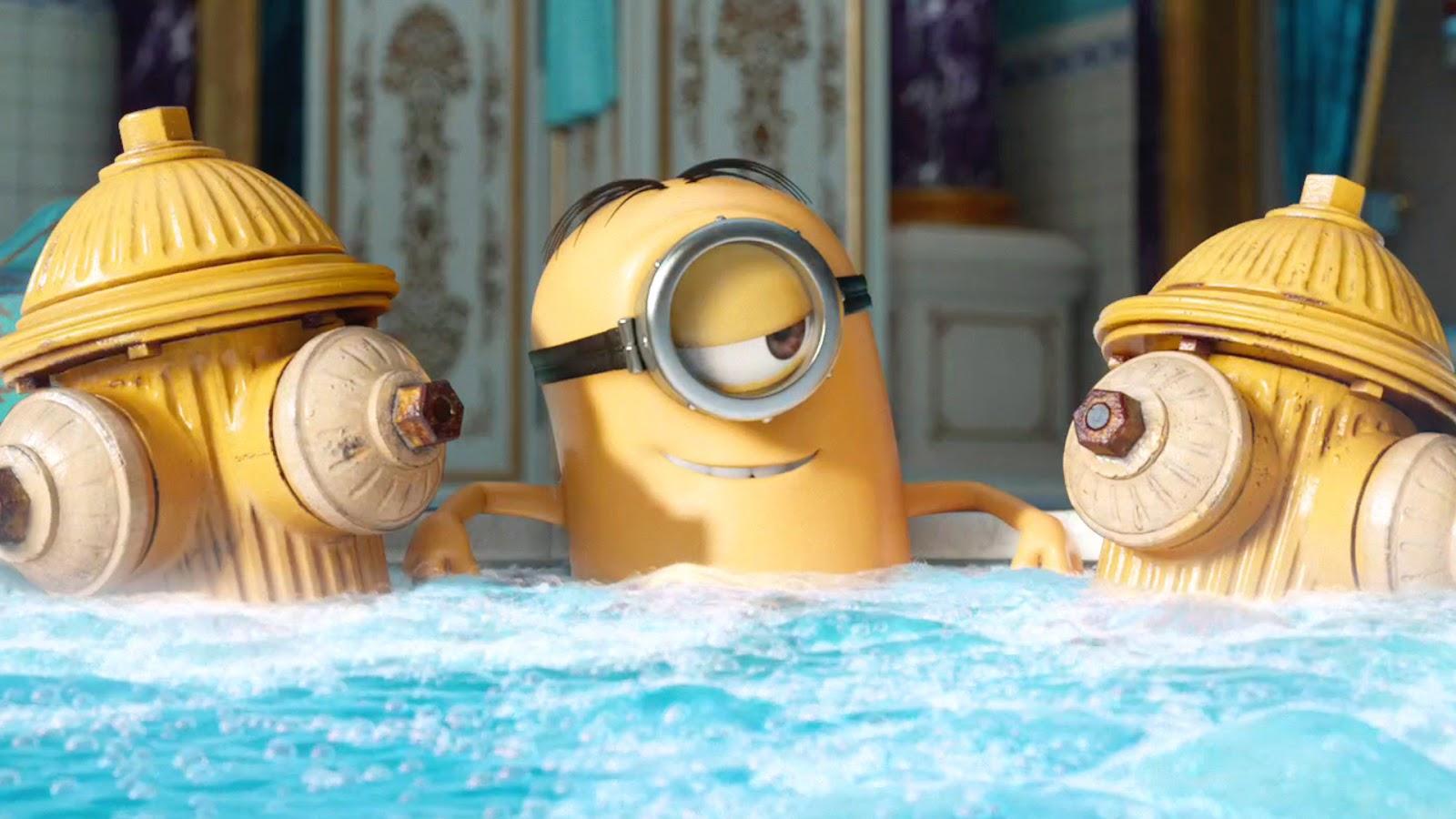 Minions Stuart Hot Tub