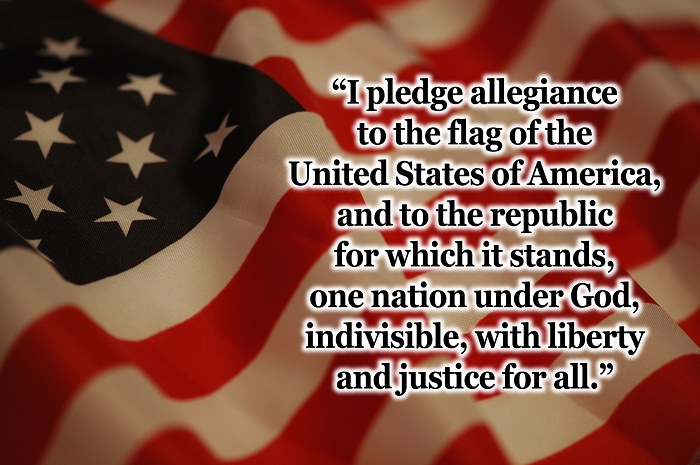 pledgeonflag